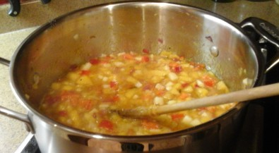 chutney-cooking